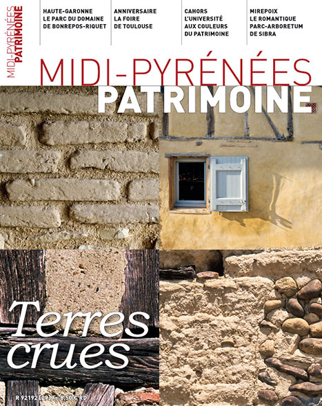 Magazine Midi-Pyrénées Patrimoine - Terres crues