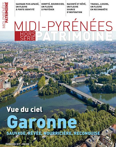Midi-Pyrénées Patrimoine - Vue du ciel Garonne sauvage rêvée nourricière reconquise