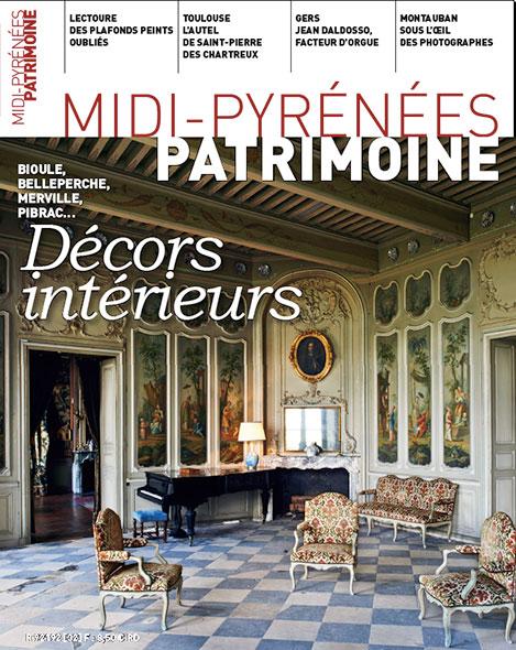 Magazine Midi-Pyrénées Patrimoine - Décors intérieurs