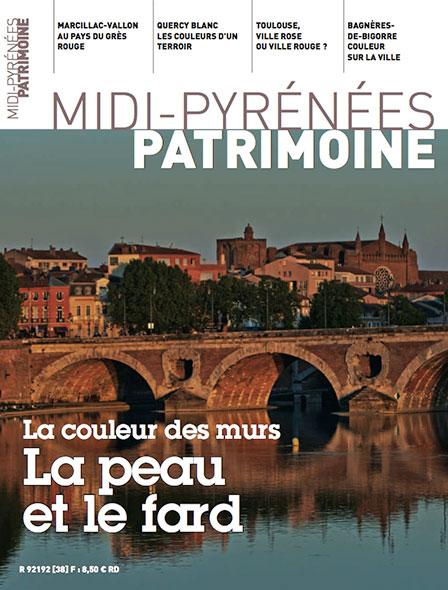 Magazine Midi-Pyrénées Patrimoine - La couleur des murs la peau et le fard