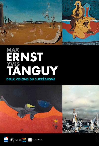 Max Ernst Yves Tanguy, deux visions du surréalisme - Musée Paul Valéry Sète