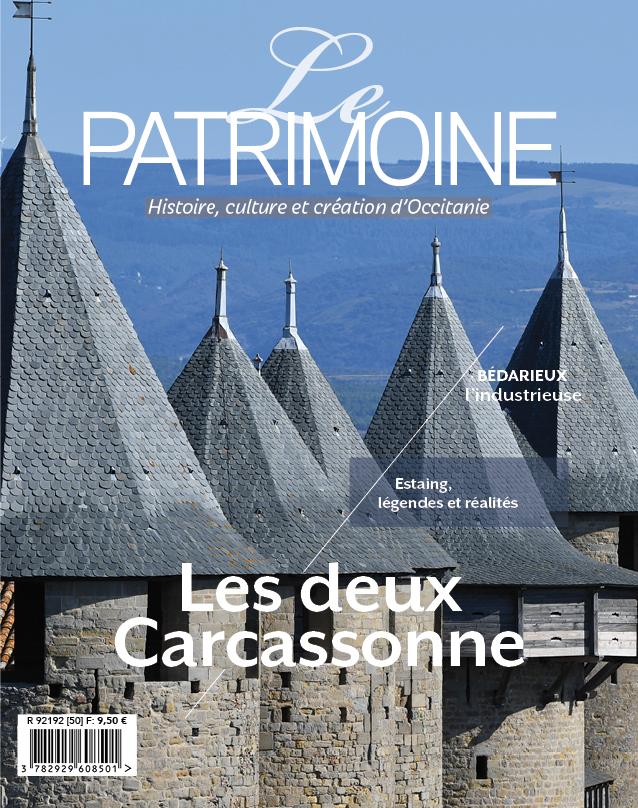 couverture le patrimoine occitanie numero 50 b