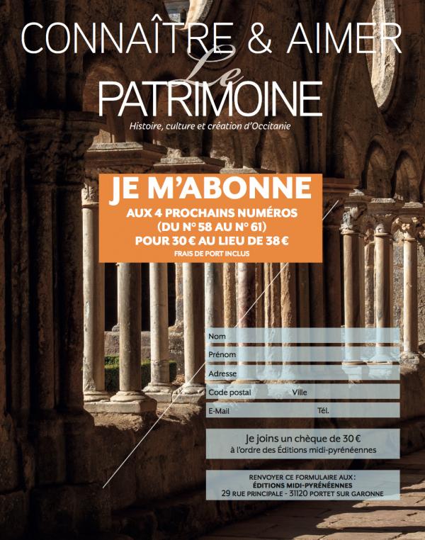 bulletin-dabonnement-magazine-le-patrimoine-histoire-culture-et-creation-doccitanie-du-56-au-59