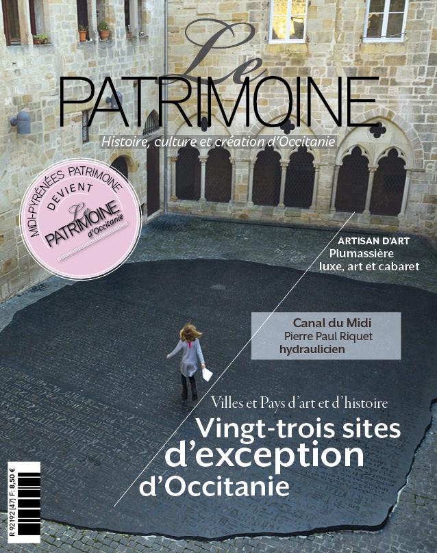 couverture le patrimoine occitanie numero 47