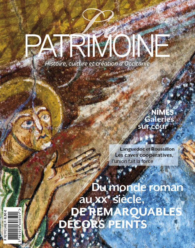 couverture le patrimoine occitanie numero 48