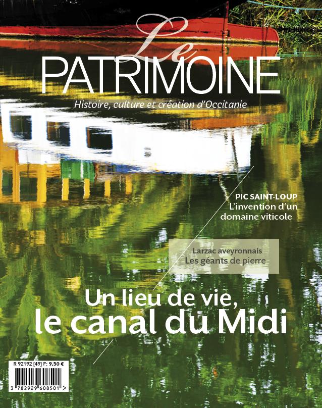 couverture le patrimoine occitanie numero 49 b