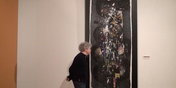Robert Combas choisit Ladislas Kijno au musée Paul-Valéry