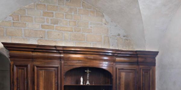 Restauration du grand meuble de sacristie de l'église Saint-Sauveur de Figeac